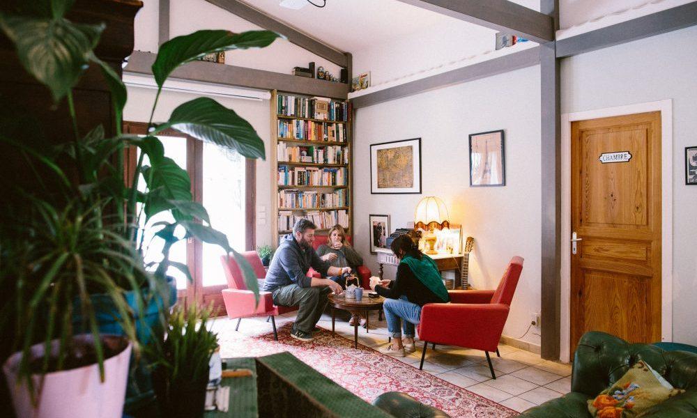 (English) Cozy moment dans le salon