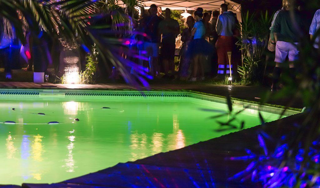 soirée piscine événements