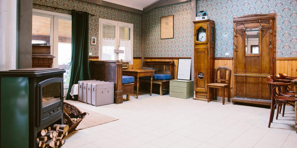 le salon de la maison d'hôtes